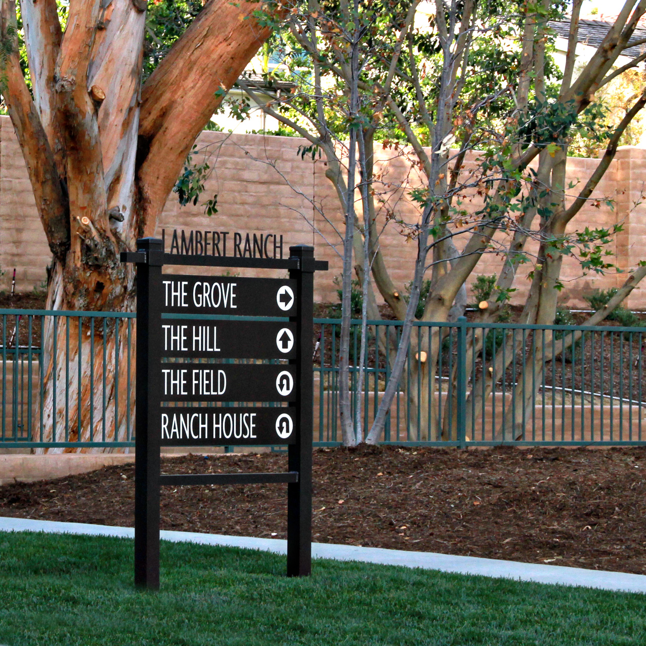 Signage @ Lambert Ranch in Irvine, CA April 29th, 2012