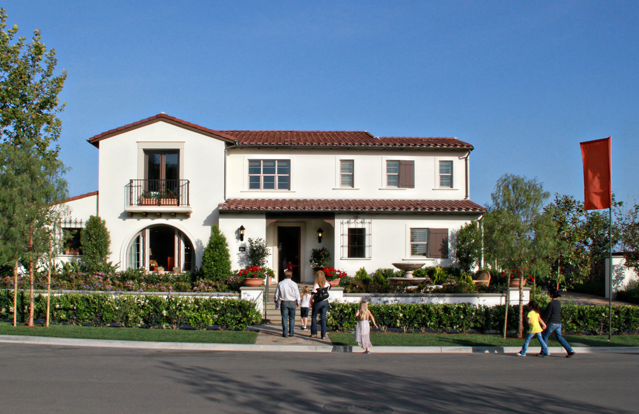 Model home @ The Field in Lambert Ranch in Irvine, CA April 29th, 2012