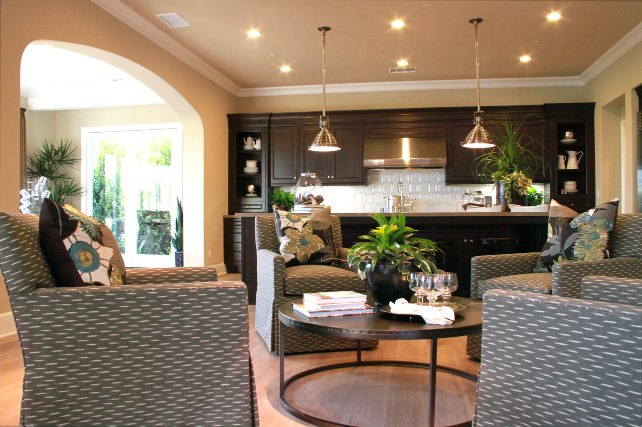 Model One interior @ The Grove in Lambert Ranch in Irvine