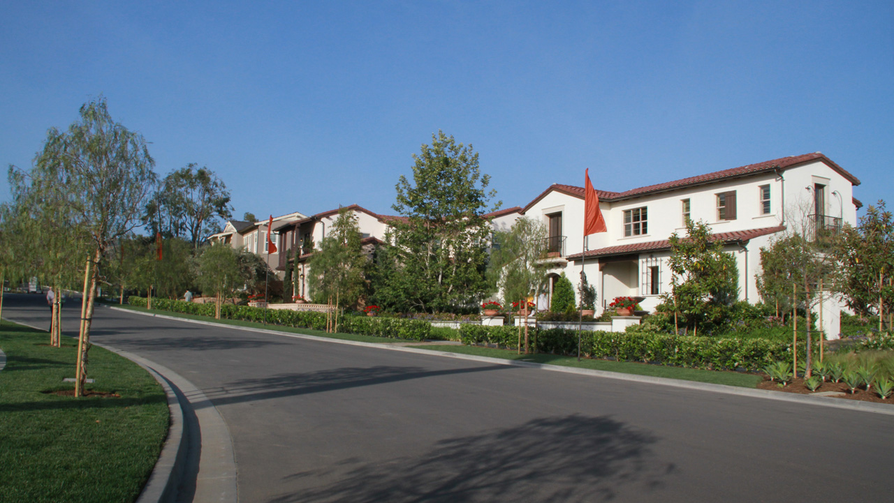 New Homes at The Field tract in Lambert Ranch @ Portola Springs in Irvine, CA June, 2012