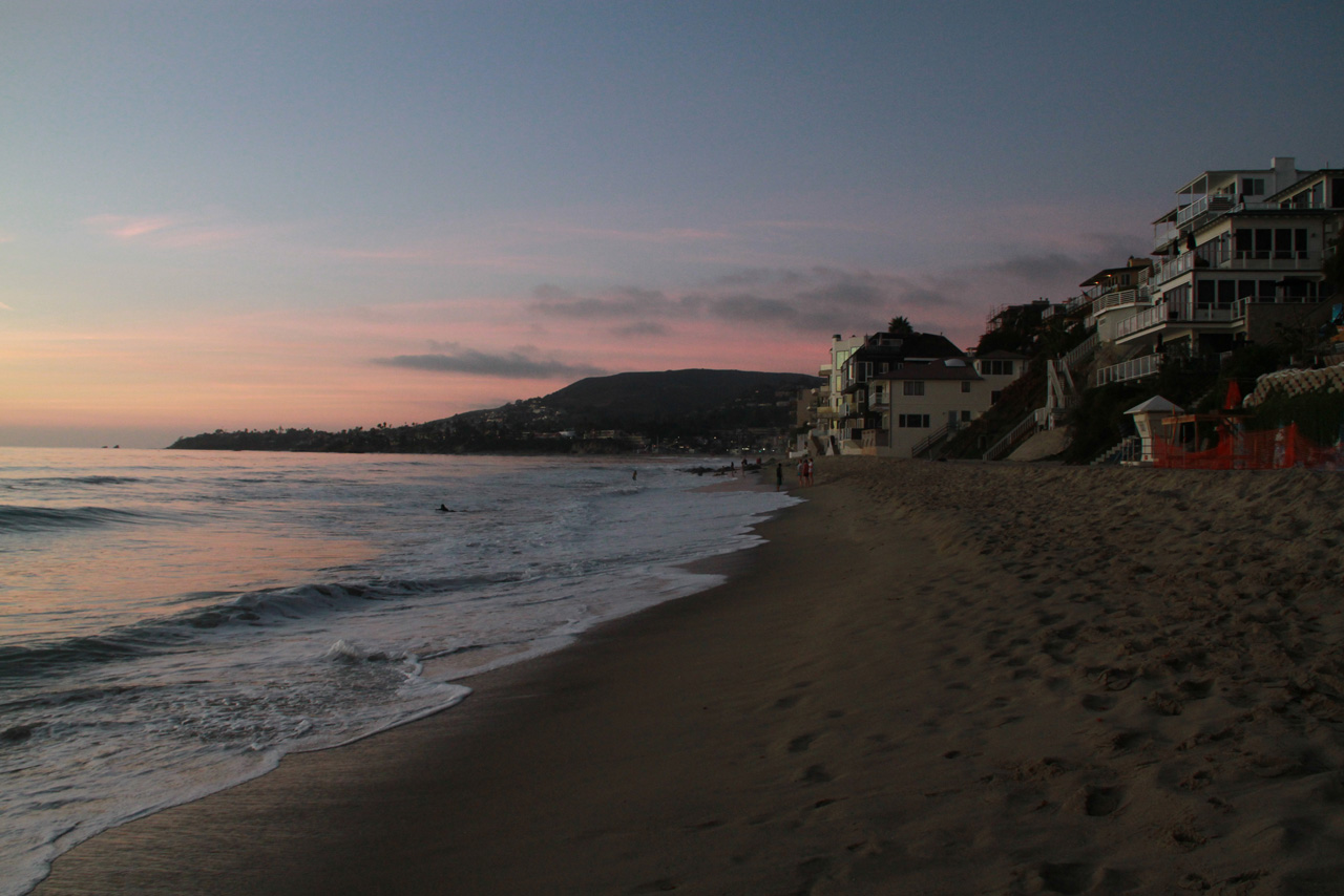 Beach at Thalia St in Laguna Beach 2013