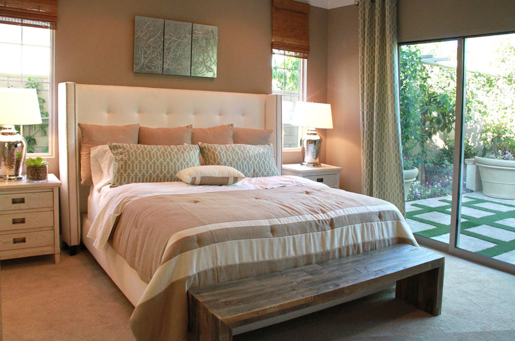 The new home bulletin hawthorn at pavilion park at the for Master bedroom downstairs