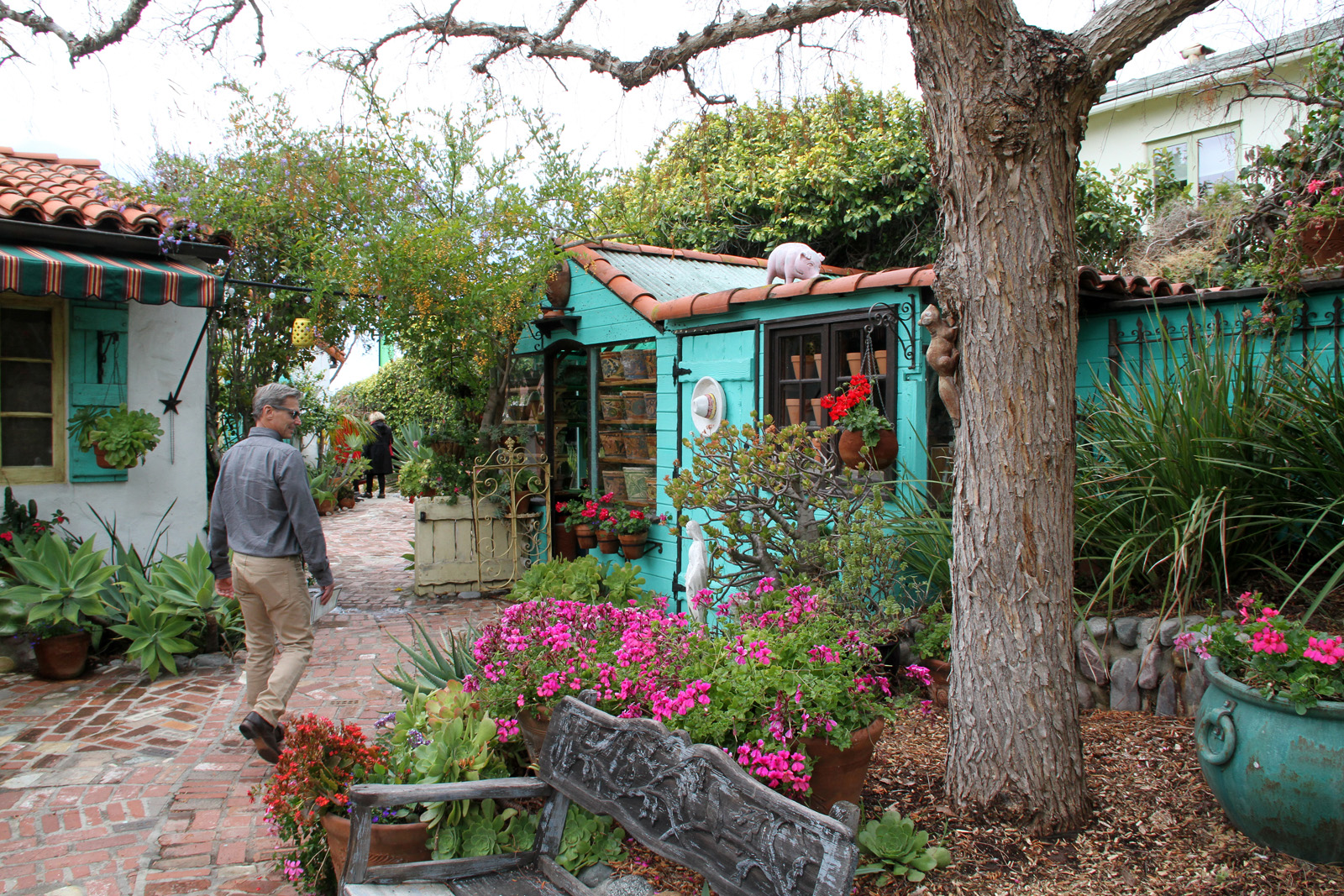 Laguna Beach Garden Club Gate & Garden Tour 2016