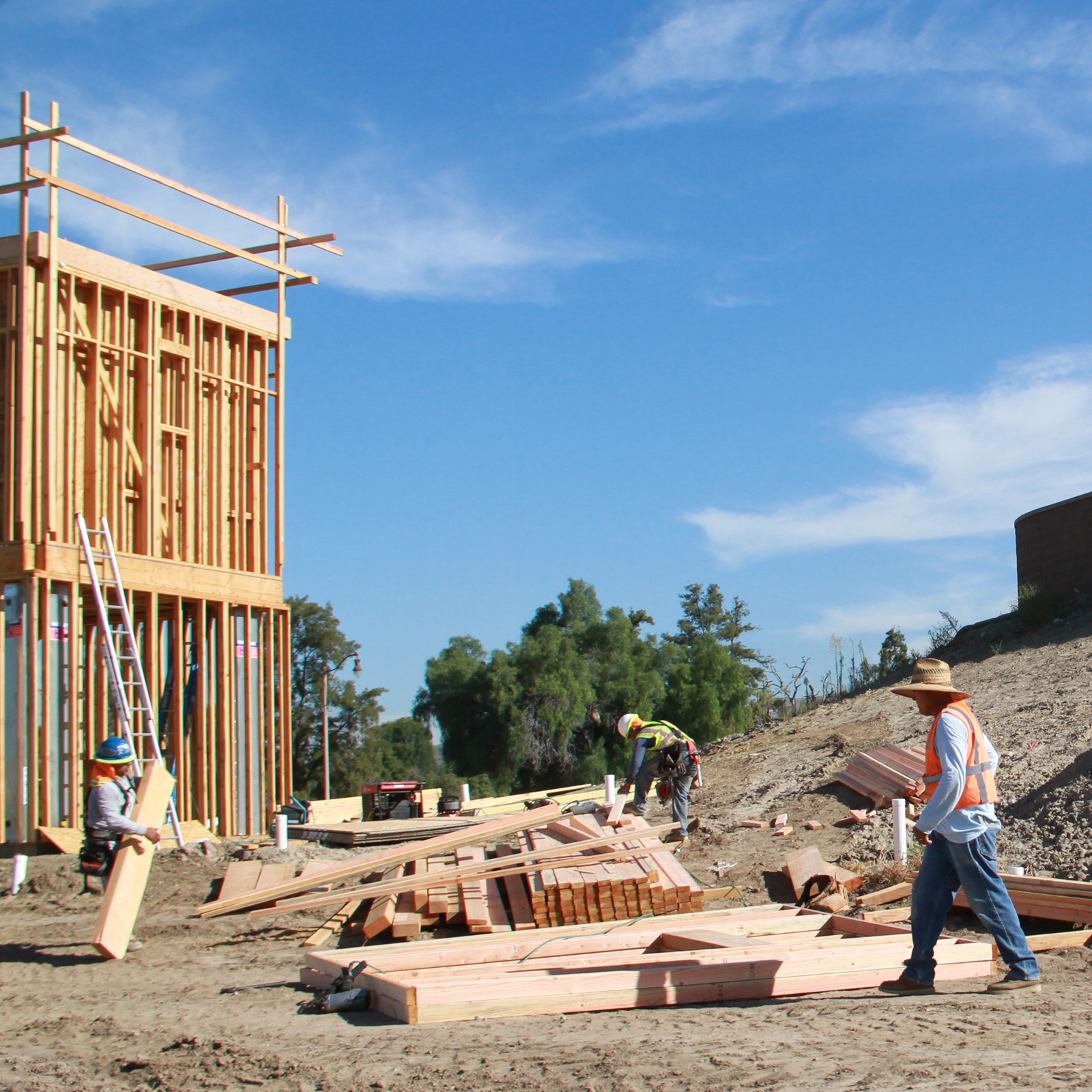 Grading & New Home Construction in Portola Springs, Irvine, CA