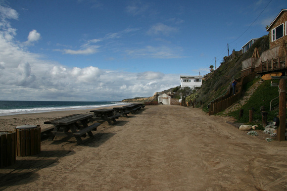 Bungalows at Crystal Cove, CA 2008