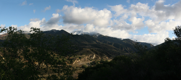 Snow on Saddleback Mountain, December 2008